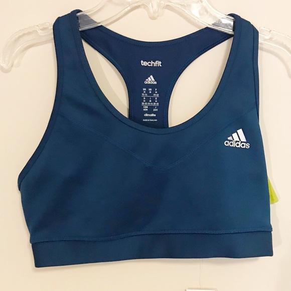 d5ca54f2ce NWT Women s Adidas Techfit sports bra